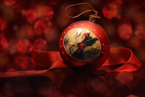 Christmas, Nicholas, Ball, Customs, Christmas Motif