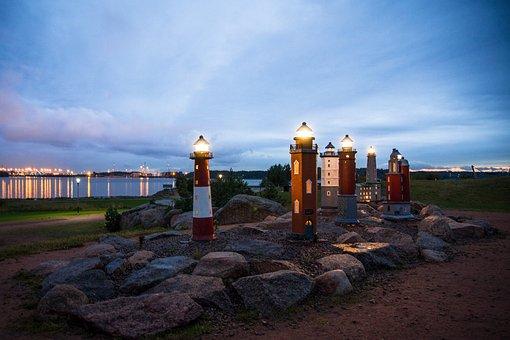 Eagle, Finnish, Sea, The Lighthouse