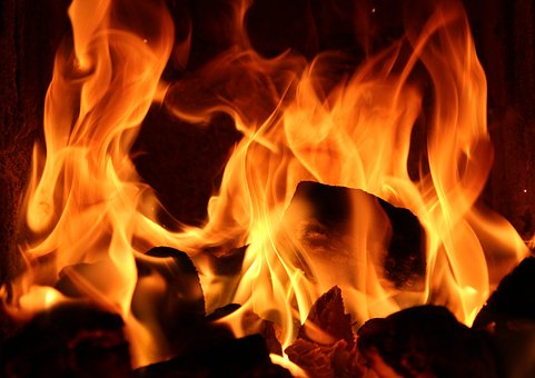 Dance Of The Flame, Fire, Glow, Hot, Mood, Flames