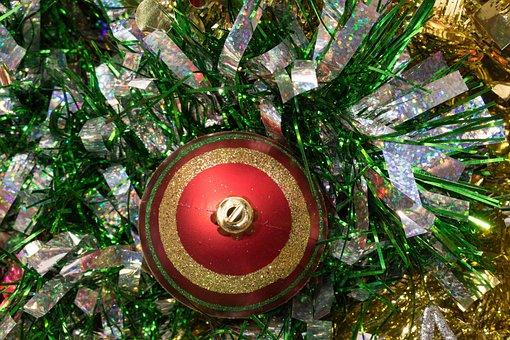 Christmas, Sign, Border, Green, Holiday