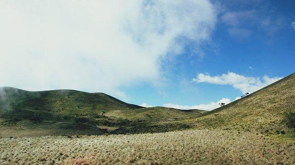 Mauna Kea, Mountain, Hill, Hawaii, Fog, Mauna, Kea