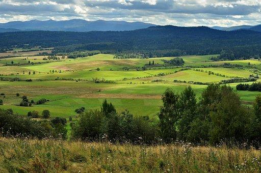 View, Mountains, Top View, Landscape