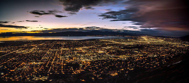 Provo, Utah, Panorama, Photography, Sony, Mountain
