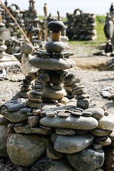 Stack Stones, Pebbles, Balance, Stones, Art