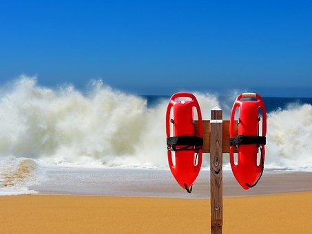 Float, Lifeguard On Duty, Beach Guard, Rescuer