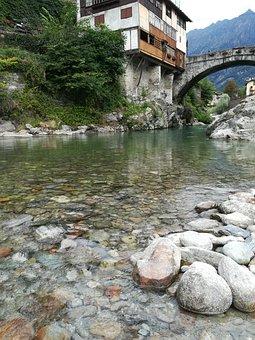 River, Water, Mountain, Sassi, Waterfalls, Waterfall