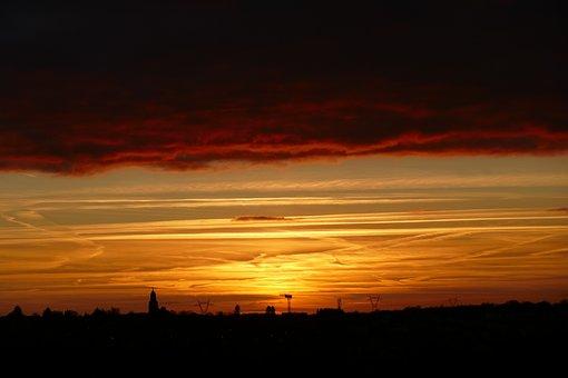 Sunset, Dawn, Dusk, Evening, Sun, Sky, Outdoors