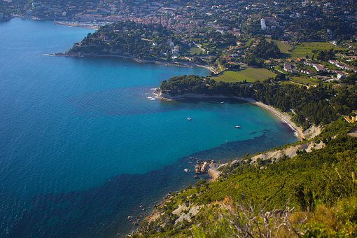 Sea, Blue, Provence, Beach, Water, Mediterranean