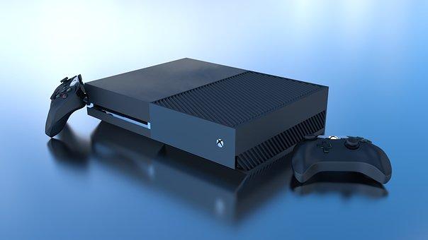 Xbox, One, 3d, Blender, Modeling, Olivier, Girard