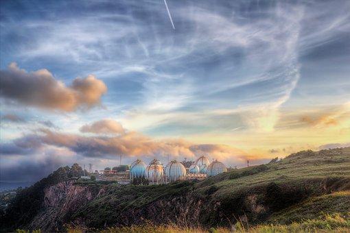 Gijón, Asturias, Clouds, Spain, Sky, Landscape