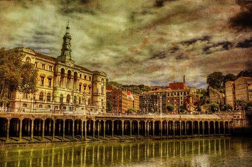 Bilbao, Spain, Vizcaya, Euskadi, City