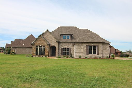 Brick Home With Stone, New Construction House