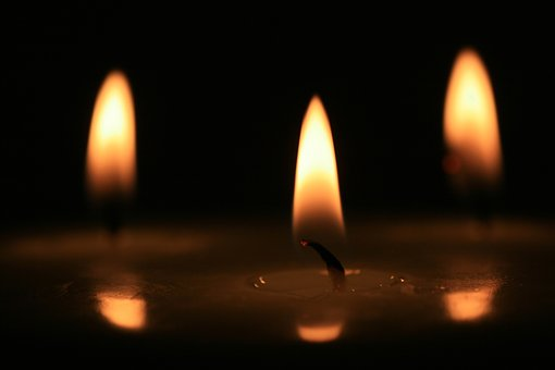 Candles, Flame, Candlelight, Romance, Atmospheric