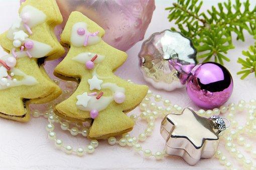 Cookie, Christmas Cookies, Christmas Tree