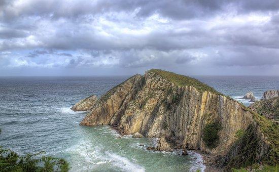 Beach Of Silence, Cudillero, Asturias, Port, Sea, Costa