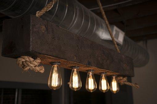 Edison Bulbs, Light Bulbs, Fixture