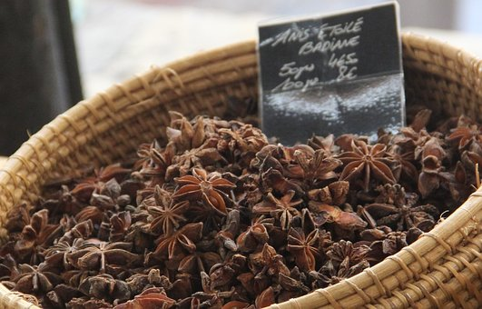 Anise, Spice, Market, Food, Star