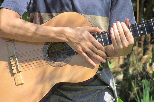 Guitar, Hands, Instrument, Musician, Guitarist