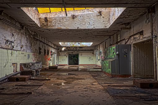 Lost Places, Hall, Pforphoto, Leave, Lapsed, Atmosphere