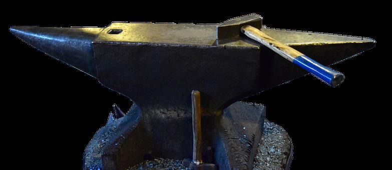 Anvil, Forge, Blacksmith, Hammer, Metal, Iron
