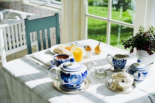 Breakfast, Eggs, Juice, Food, Coffee