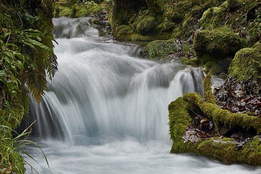 Water, Waterfall, Nature, Waterfalls, Landscape