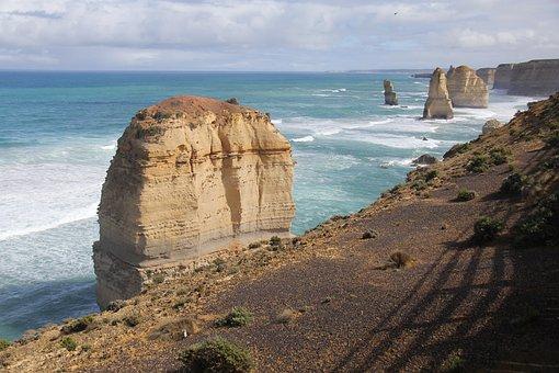 Twelve, Apostles, Ocean, Travel, Tourism, Nature
