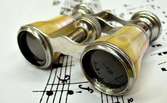 Opera Glass, Binoculars, See, Watch, Opera, Antique