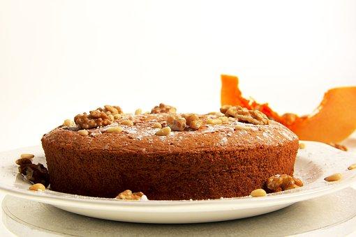 Cake, Still Life, Pumpkin