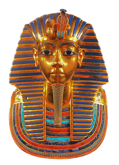 Mask, Replica, King, Tutankhamun, Face, Egyptian, Gold