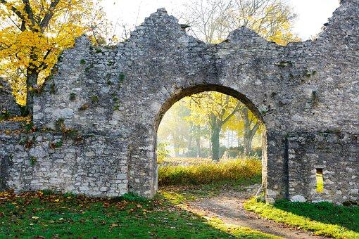Ruin, Honing Mountain, Honing Castle, Tuttlingen