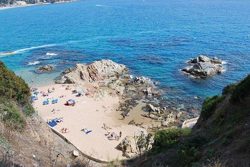 Beach, Mountain, Nature, Sea, Blue, Landscape, Cala