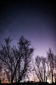 Stars, Starry, Night, Sky, Astronomy, Dark, Space