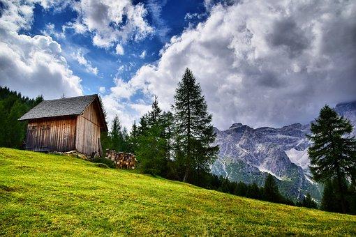 Altoadige, Südtirol, Italy, Mountains, Tyrolean