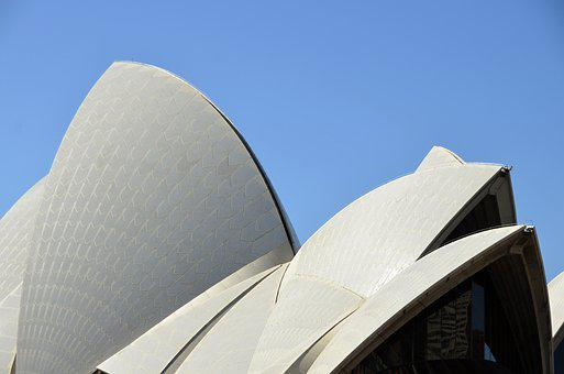 Roof, Operahouse, Architecture, Building