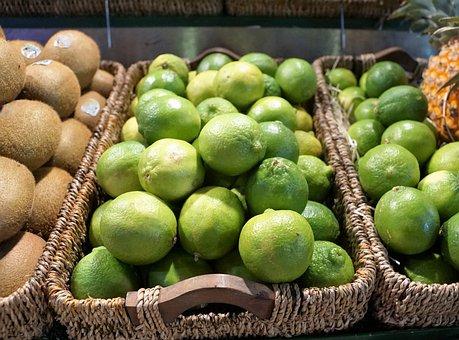 Lime, Market, Vitamin, Citrus, Eat, Citrus Fruits