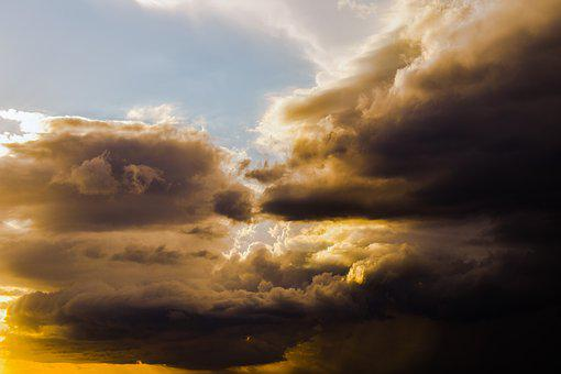 Clouds, Sky, Weather, Atmosphere, Cloudscape