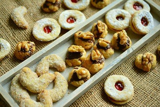 Cookie, Christmas Cookies, Baked, Bake, Pastries