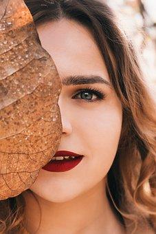 Autumn, Girl, Portrait, Eyes, View, Photoshoot, Style