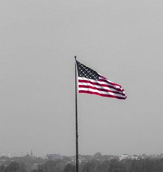 Flag, Usa, Independence, Patriotism, The Nation