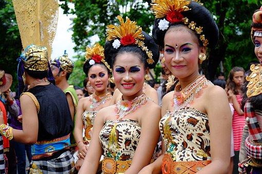 Bali, Woman, Ethnic, Indonesia, Tropical, Happy, Young