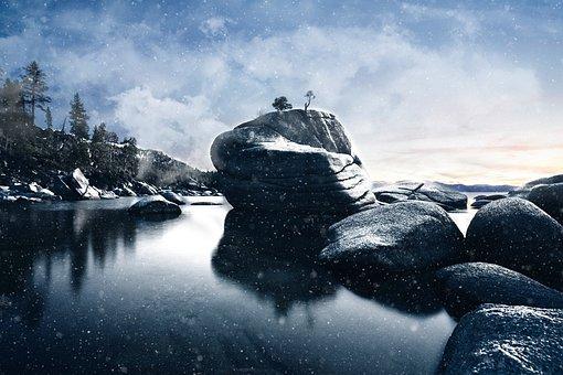 Rocks, Boulder, Landscape, Nature