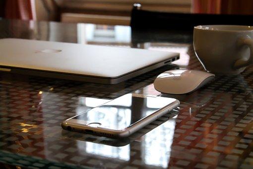 Apple, Computer, Laptop, Work, Mac, Office, Workplace