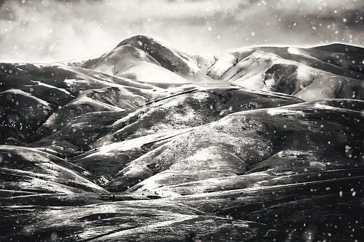 Iceland, Mountains, Winter, Landscape, Nature