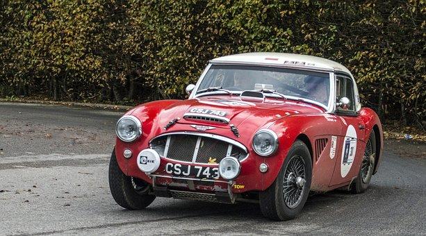 Car, Classiccar, Rally, Automobile, Transportation
