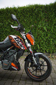 Ktm, Duke, 125, Motorcycle, Road, Technology, Sport
