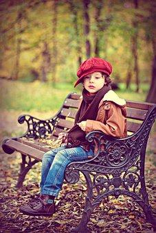 Park, Boy, Baby, Bench, Small Child, Child