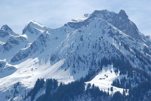 Snow, Mountains, Winter, Alpine, Forest, Snow Landscape