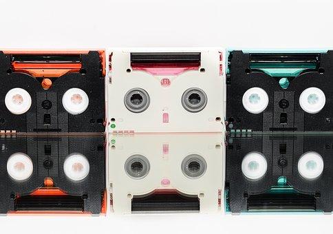 Mini Dv, Cassette, Film, Movie, Tape, Mini, Video