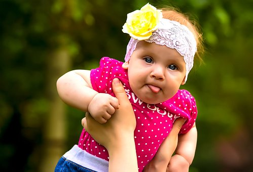 Child, Person, Childhood, A Cute Baby, Girl, Happiness